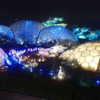 Eden Project - Biomes at Night